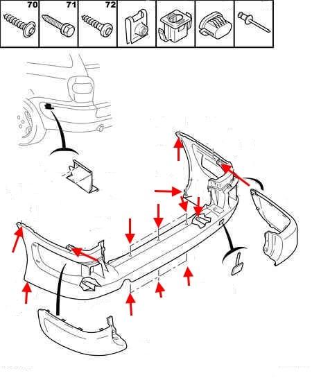 How To Remove Front And Rear Bumper Citroen Xsara 1  1997