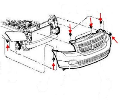 How to remove front and rear bumper Dodge Caliber Fog Light Wiring Diagram For Caliber on