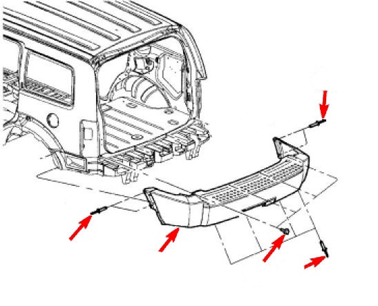 How To Remove Front And Rear Bumper Dodge Nitro