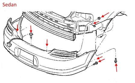 Dodge Stratus on Dodge Durango Rear Bumper Diagram