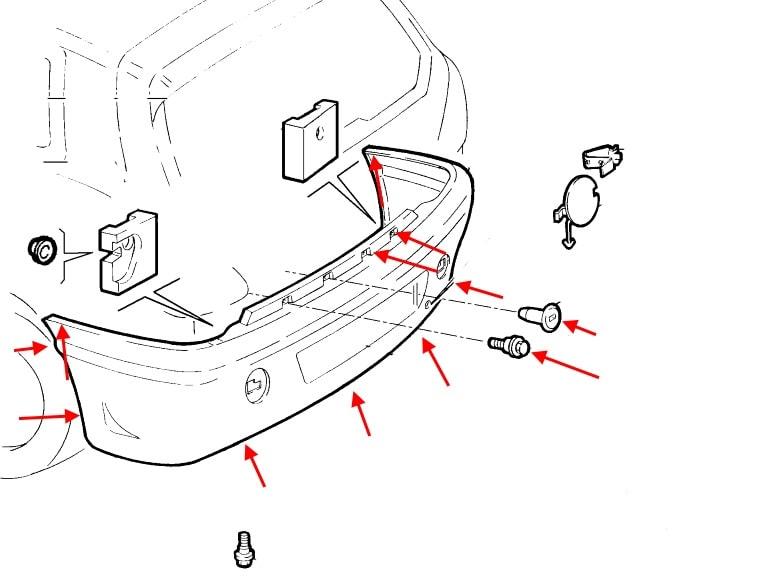 How To Remove Front And Rear Bumper Fiat Brava  Bravo  1995