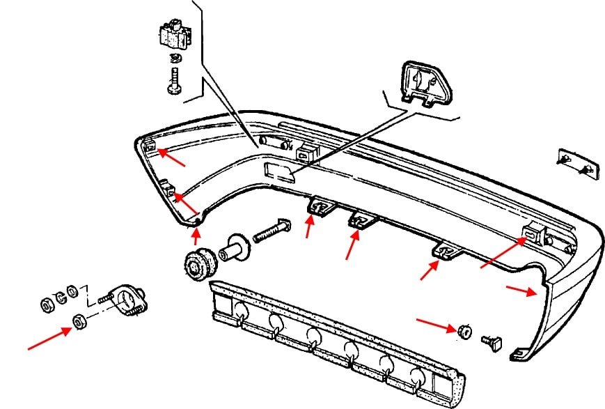How To Remove Front And Rear Bumper Fiat Croma  1985