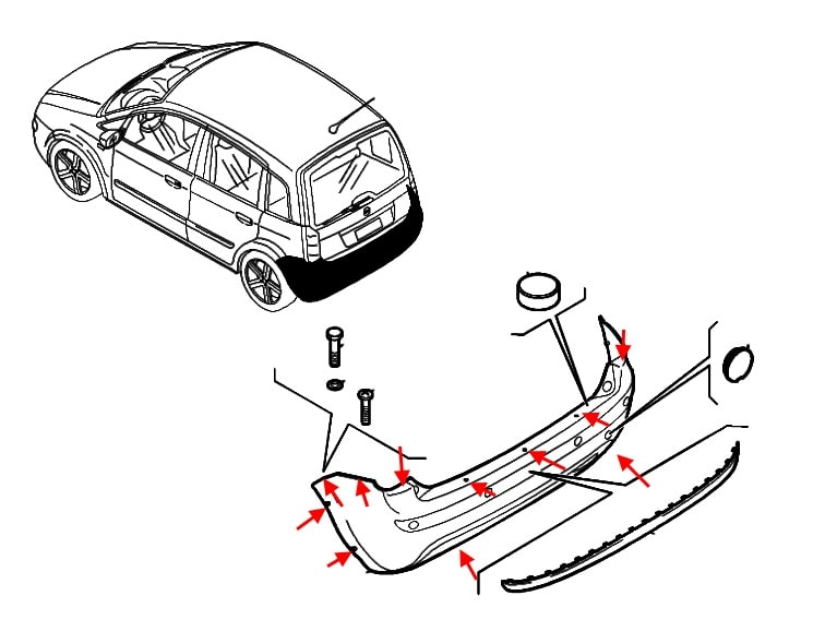 How To Remove Front And Rear Bumper Fiat Idea