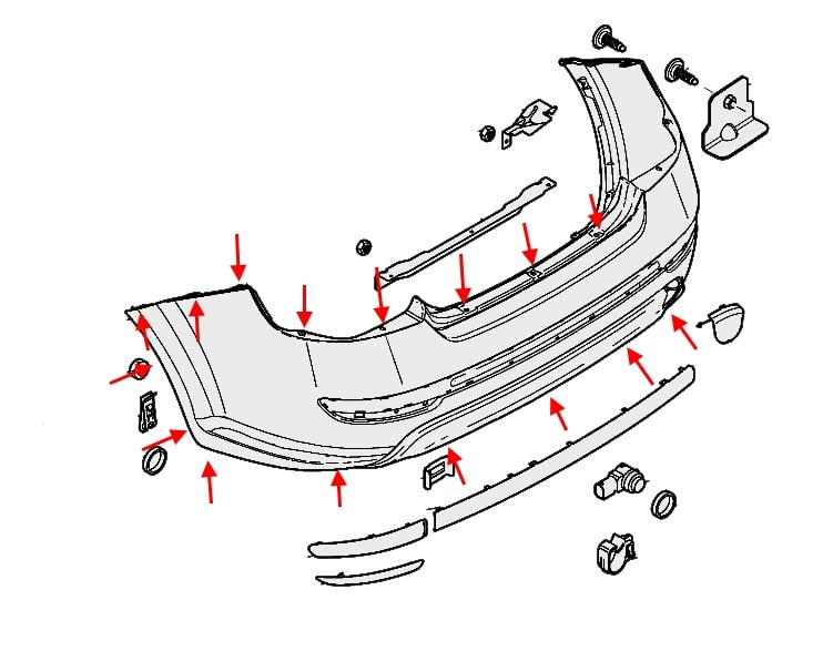 How To Remove Front And Rear Bumper Fiat Linea