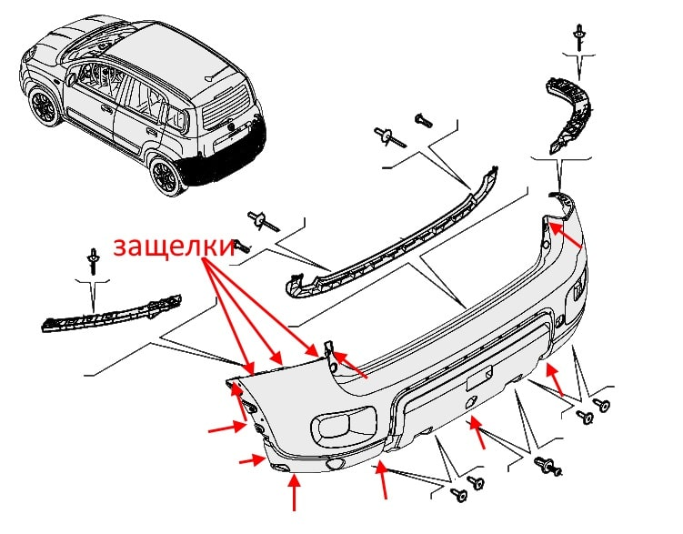 How To Remove Front And Rear Bumper Fiat Panda 3  Post