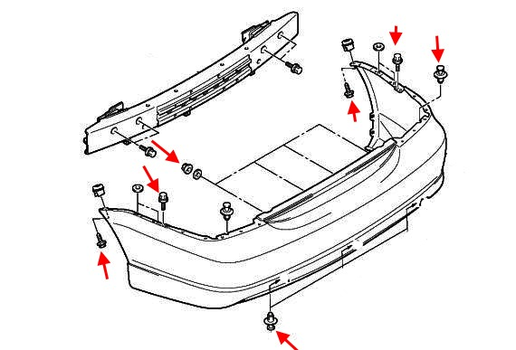 How To Remove Front And Rear Bumper Mitsubishi Lancer