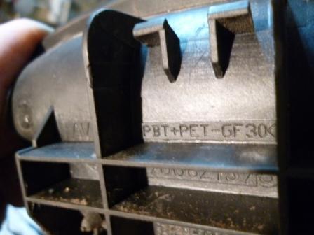 маркировка пластика PBT-PET