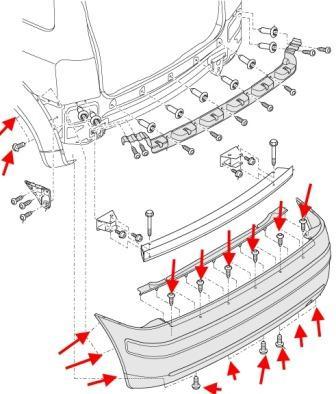 Ауди схема парктроника