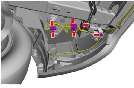 как снять передний бампер ford c-max