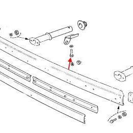 Снятие и установка бамперов на Шевроле Нива