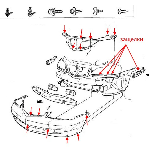 How To Remove The Front And Rear Bumper Acura CL