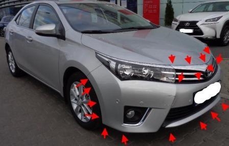 Снятие заднего бампера — Toyota Corolla, л., года на DRIVE2 | Ремонт авто - продажа КАСКО, ОСАГО