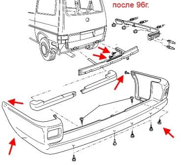 Снятие бампера с транспортера конвейеры стоимость